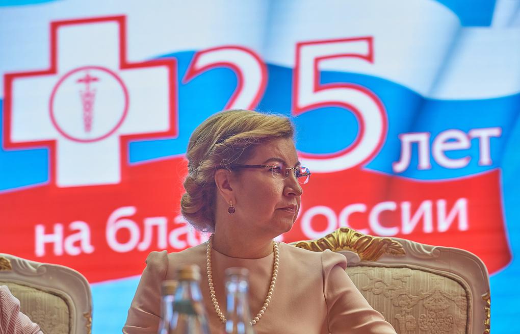 Глава ФФОМС Наталья Стадченко Пресс-служба ФФОМС