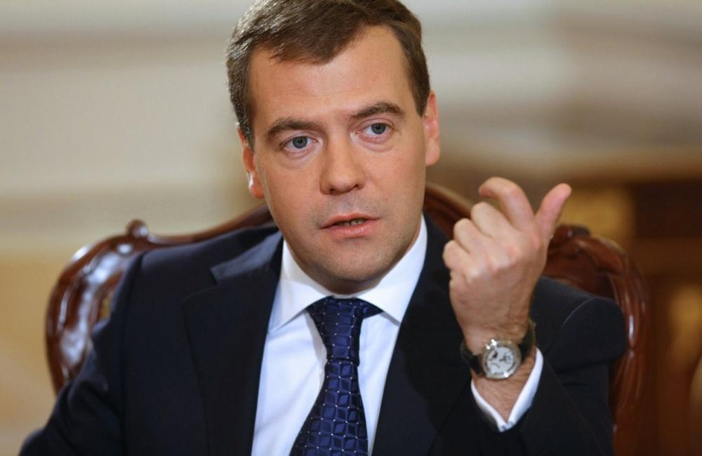 Дмитрий Медведев, премьер-министр РФ Фото: lentachel.ru