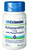 Astaxanthin with Phospholipids 4 mg, 30 soflgels (LifeExtension)